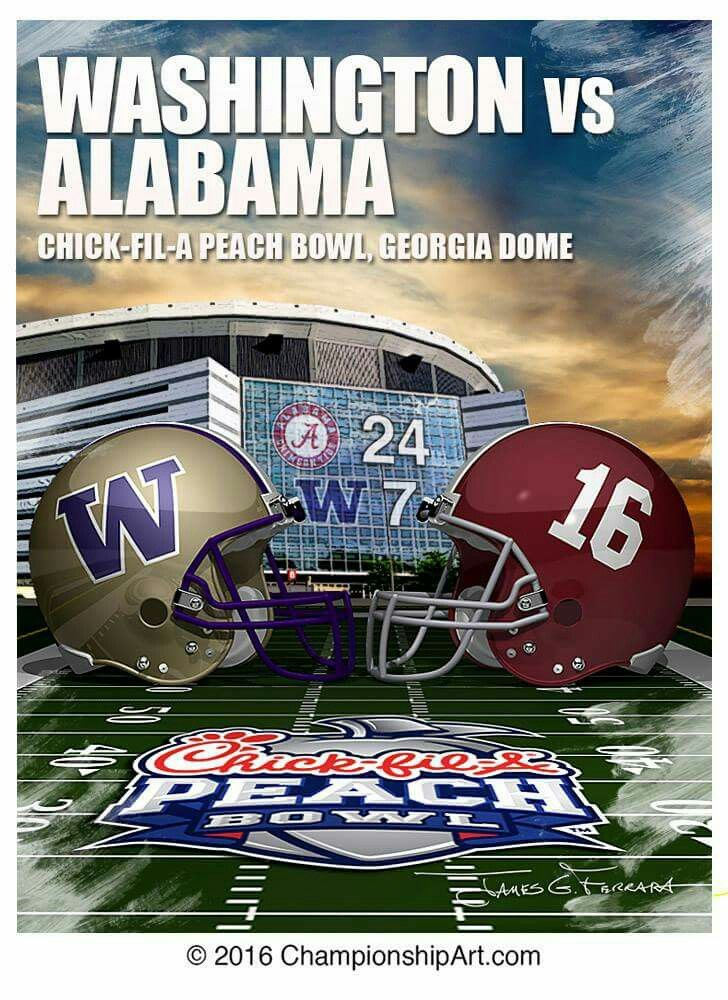 Alabama vs Washington 2016 playoff