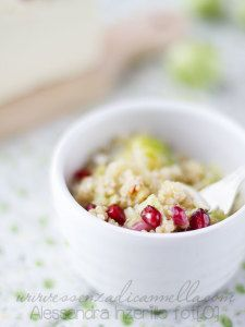 #quinoa #melograno #cavolettodibruxelles  http://www.glutenfreetravelandliving.it/gffd-ricette/