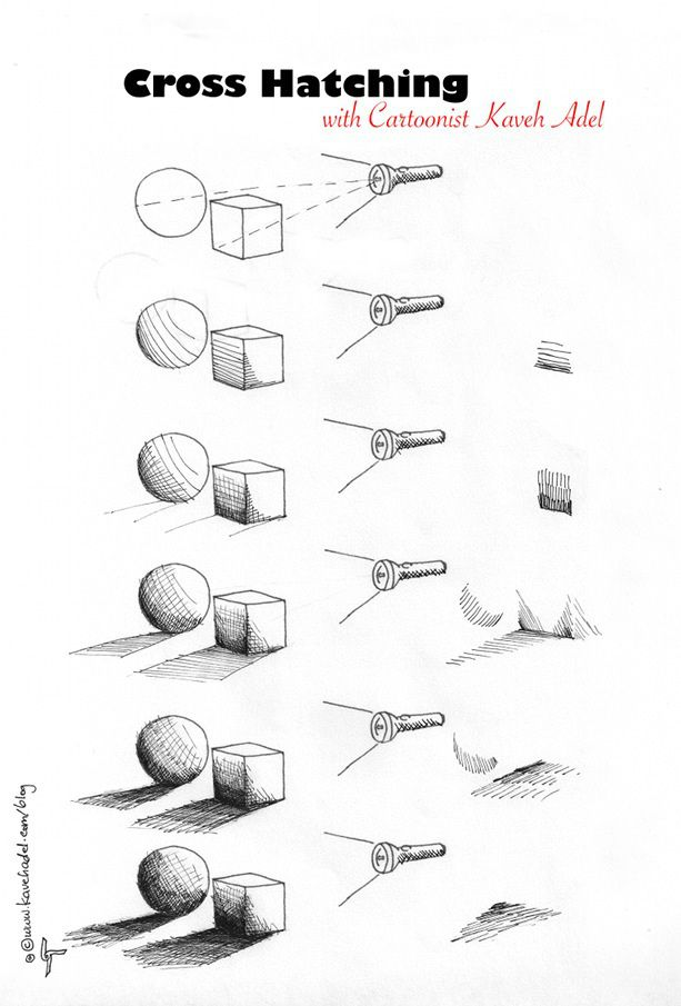 Cartooning-Tutorial-Cross-hatching-2011-by                                                                                                                                                                                 Más