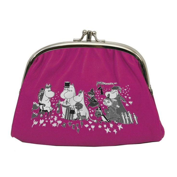 Moomin pink small purse - The Official Moomin Shop 17,90 e