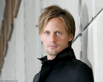 You'll learn more about Alex Svenson in Book 2, but you don't think we'd leave out the incredible Alexander Skarsgard do you... NEVER!