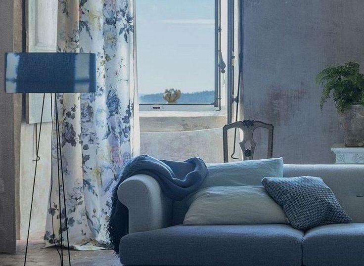 Schlaufenschal wohnzimmer ~ Gardinen und vorhänge für wohnzimmer wohnzimmer gardine sonnig