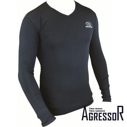 Черные футболки и майки с длинным рукавом