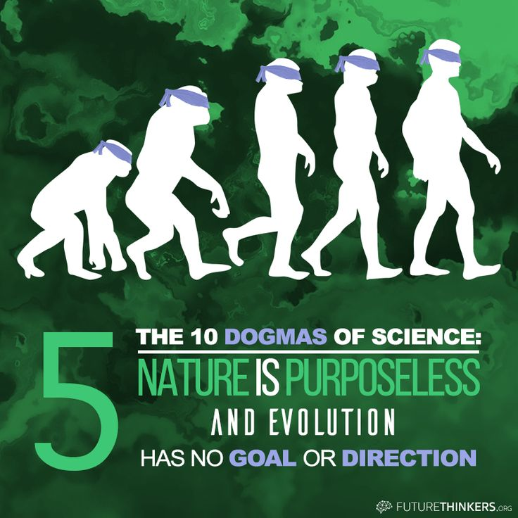 """10 Dogmas of Science: #5: """"Nature is purposeless, and evolution has no goal or direction."""""""