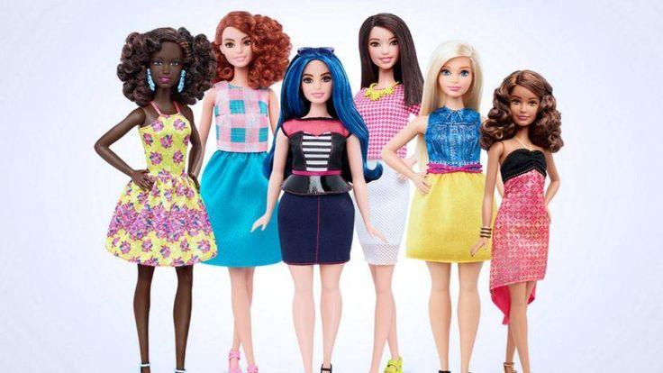 Weiß, blond und gertenschlank – so sollte es mit Barbie nicht weitergehen. Eine neue Kollektion setzt auf mehr Pfunde und ethnische Vielfalt. An der ...