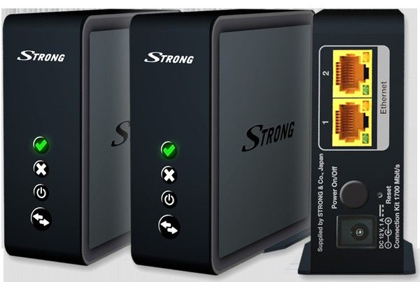 STRONG Wi-Fi Connection Kit Duo 1700 | Satelittservice tilbyr bla. HDTV, DVD, hjemmekino, parabol, data, satelittutstyr