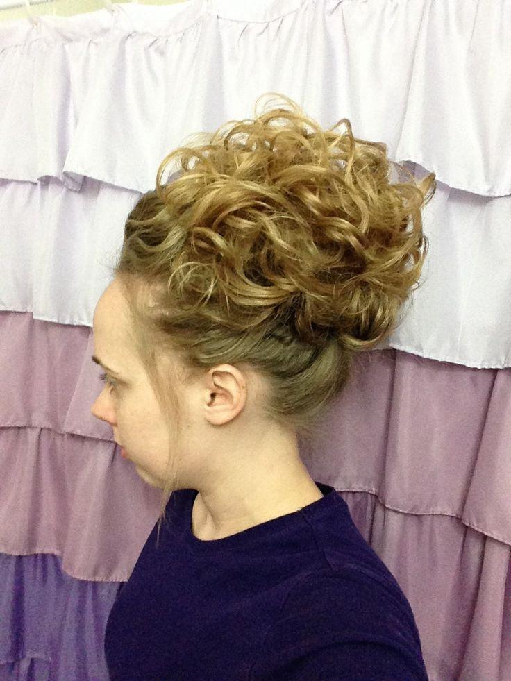 Pentecostal Hair Curly Updo Hair Pinterest