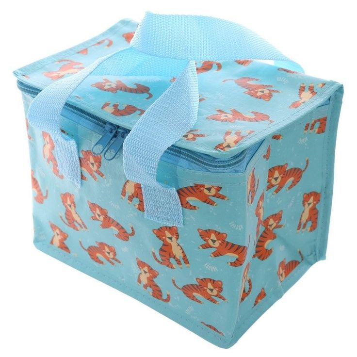 Click that link to learn more about Zoo Animals Design Lunch Box Cool Bag by weeabootique!