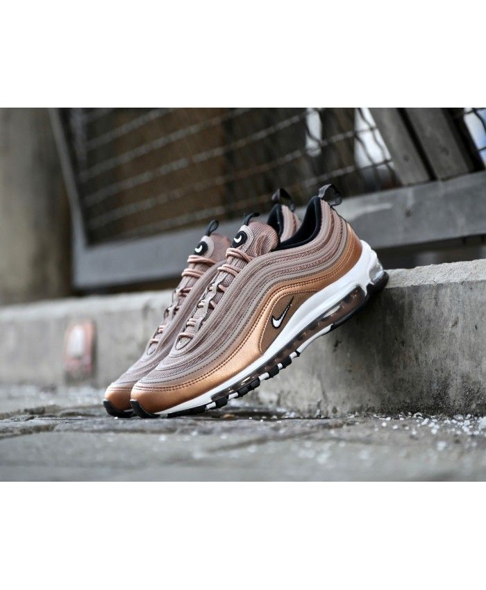 separation shoes 0ba15 6dcb6 Men s Nike Air Max 97 Desert Dust White Metallic Red Bronze Black 921826 200