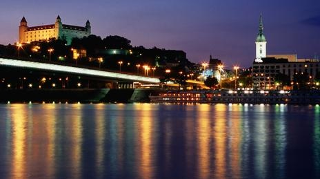 View from the other side of Danube