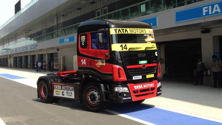 Tata T1 Prima Truck Racing a first look - Formula One - BBC TopGear Magazine India Official Website