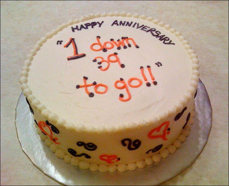 Wedding Anniversary Quotes On Cake