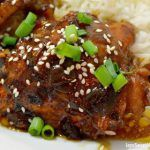 Try my easy to make Pressure Cooker Honey Sesame Chicken recipe. The chicken falls off the bone and the meat is so tender and juicy.
