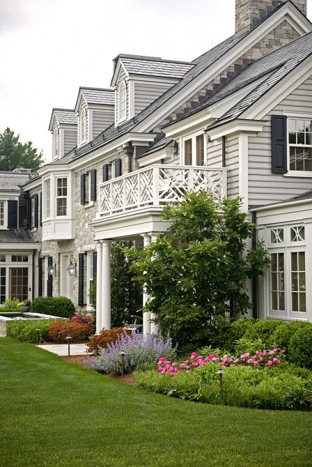 Balcony. Mellowes & Paladino Architects, Inc. - High end Architecture - Boston, MA | Boston Design Guide