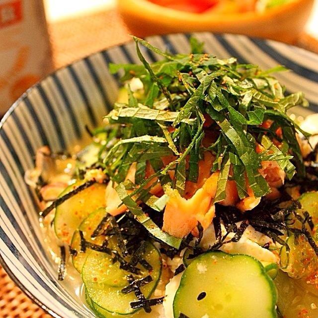 寒くなる前に、もう一度食べておきたかったので〜。 - 398件のもぐもぐ - 鮭の冷や汁ぶっかけご飯 by bagusbintang