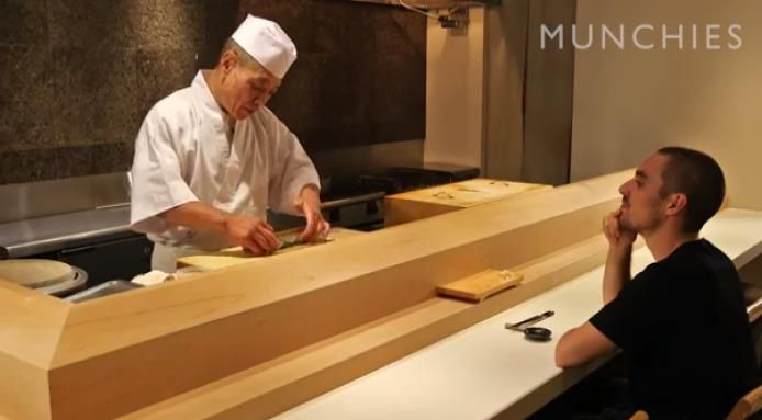WATCH: A Japanese Chef Shows You How To Eat Sushi