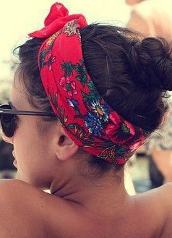 headband for a day at the beach