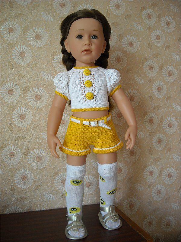 Летняя одежда для кукол Gotz / Одежда для кукол / Шопик. Продать купить куклу / Бэйбики. Куклы фото. Одежда для кукол