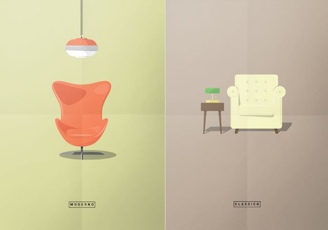 Minimalist Posters On Design Vocabulary