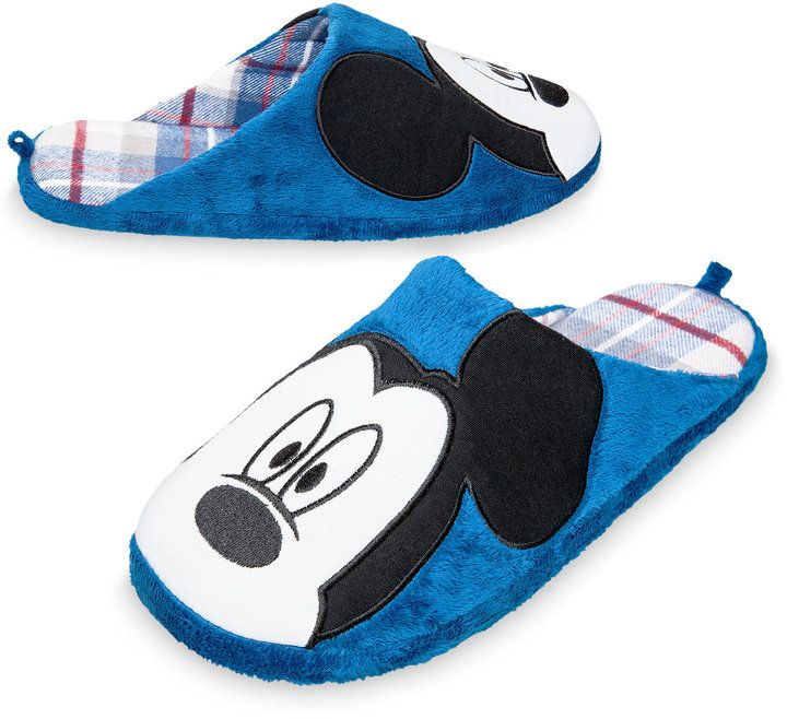 Disney Mickey Mouse Slippers for Men