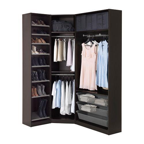 PAX Garderob - 123/173x38x236 cm - IKEA