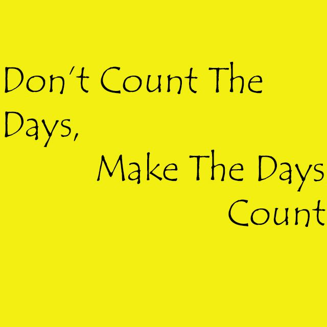 Workout, be awesome and make each day count! http://www.fitspur.com