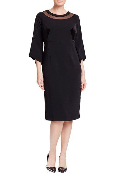Persona by Marina Rinaldi Decalogo Cocktail Dress (Plus Size) available at #Nordstrom