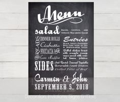 Best Menu Ideas Images On   Chalkboard Bar Bar Menu