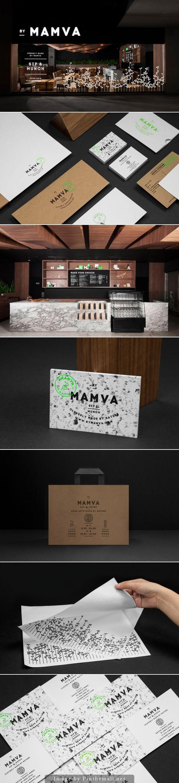Mamva branding by Anagrama