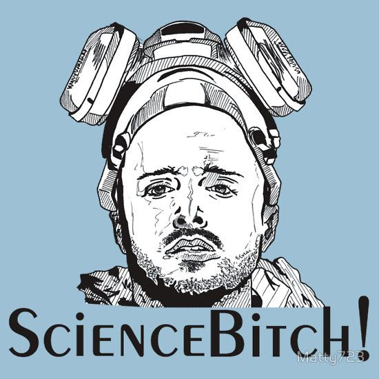 Aaron Paul, Jesse Pinkman - Breaking Bad, Science Bitch!
