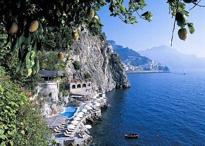 Santa Caterina Hotel, Amalfi Coast, Italy - a real slice of Italy