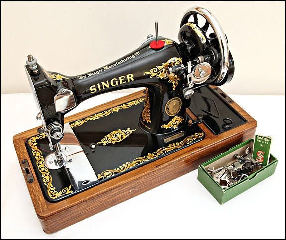 Gorgeous!  Singer 128K from 1954