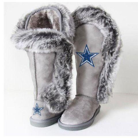 "Dallas Cowboys Women's Cuce Official NFL ""Winner"" Boots"
