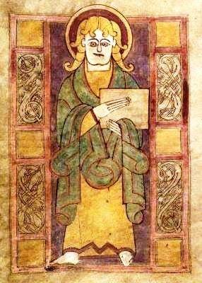 St. Luke, Irish, 7th/8th century AD