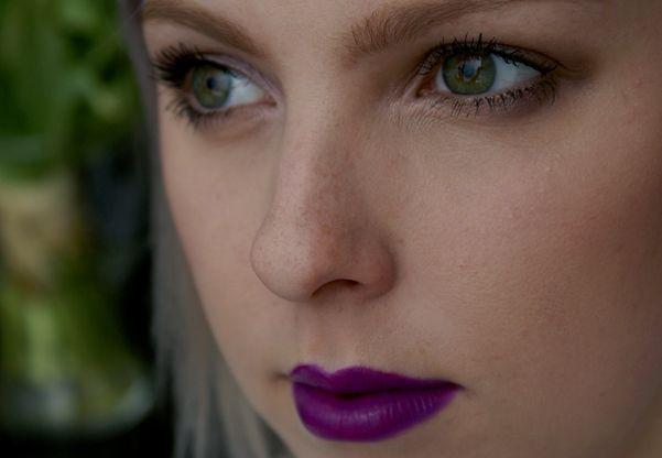 Dnešní Makeup: Purple Again