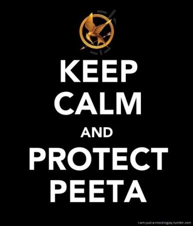 :) It's nice to see a girl who can be a hero instead of one who has to rely on a vampire to help her walk in heels. Love the Hunger Games!