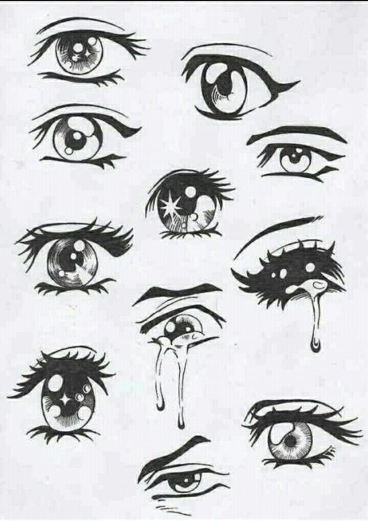Beautiful Drawing Of Eyes Sketches Drawings Easy Anime Eyes