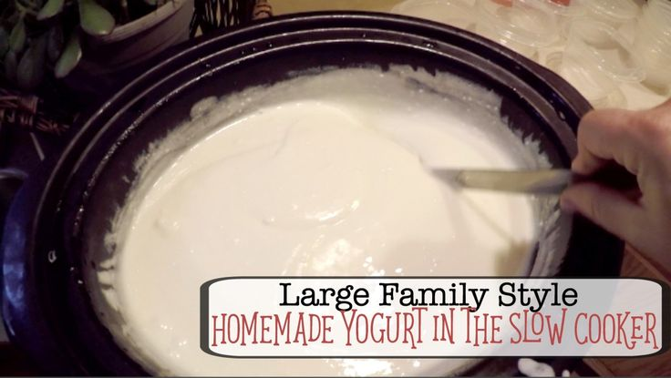 how to make homemade yogurt in a slow cooker