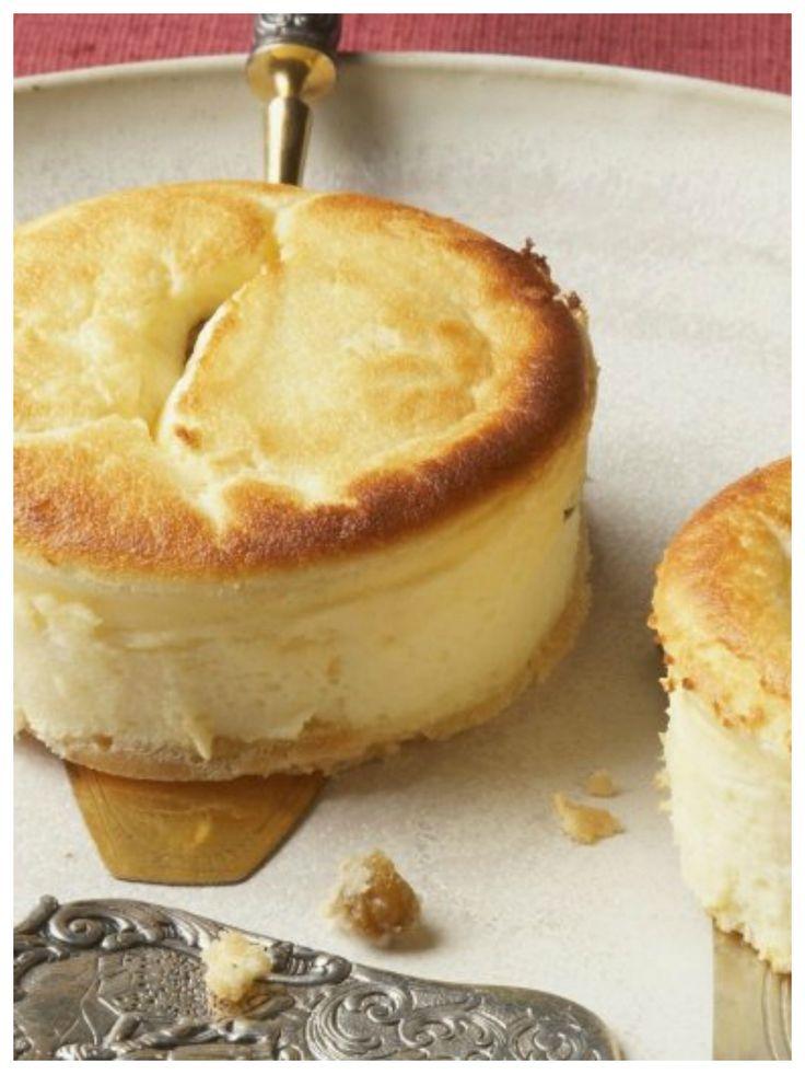 Herrlich saftig und so lecker - Kleine Käsekuchen | http://eatsmarter.de/rezepte/kleine-kaesekuchen-0