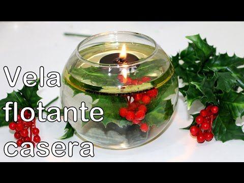 Cómo hacer velas flotantes con tapones de botella - YouTube                                                                                                                                                                                 Más