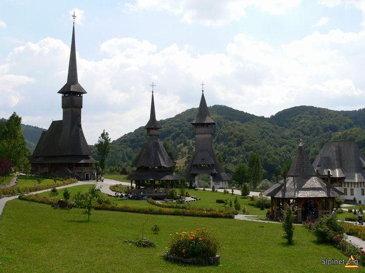 Budeşti Josani church, built in 1643, Romania