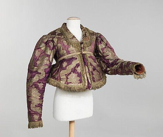 Jacket,  1840–80,  Russia.  The Met.