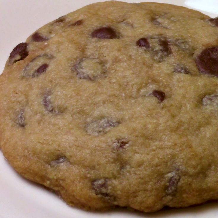 This Is the Ultimate Big Chocolate Chip Cookie—for One!