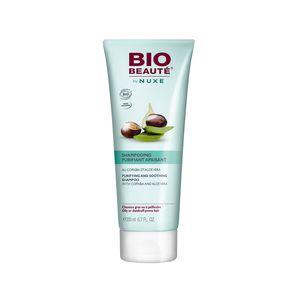 Ce shampooing aux extraits de Copaïba et Noix du Brésil Bio vient au secours des cheveux gras ou à pellicules en éliminant l'excès de sébum, tout en régulant sa production. Les cheveux sont purifiés. Le cuir chevelu est apaisé. Il facilite le coiffage et sublime naturellement les cheveux (Oligopeptides d'Amande Douce Bio et Chicorée Sauvage). Le cuir chevelu est purifié pour 86%*. Les cheveux sont moins gras pour 71%*. Les pellicules sont éliminées pour 71%*. *Test d'usage réalisé sous…