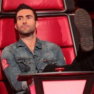 The Voice (2011-present). NBC. Hosted by Carson Daly (plus, Adam Levine, Cee Lo Green, Blake Shelton and Christina Aguilera).: Eye Candy, Christina Aguilera, Adam Levine, Teamadam, Red Chairs, Celebs, Team Adam, Beautiful People, The Voice