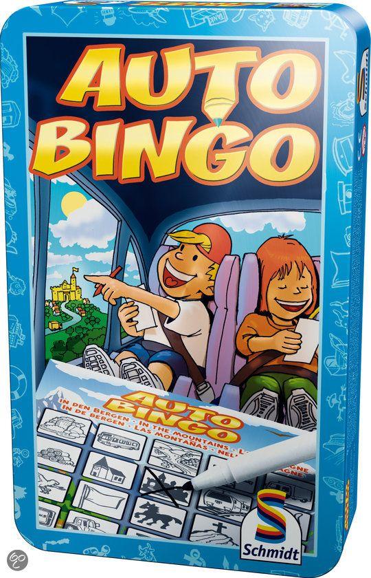 auto bingo is spelletje voor onderweg
