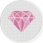 Diamond Cross Stitch Pattern - via @Craftsy