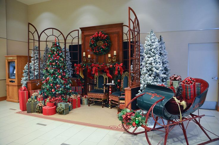 christmas main entrance decoration - Google Search