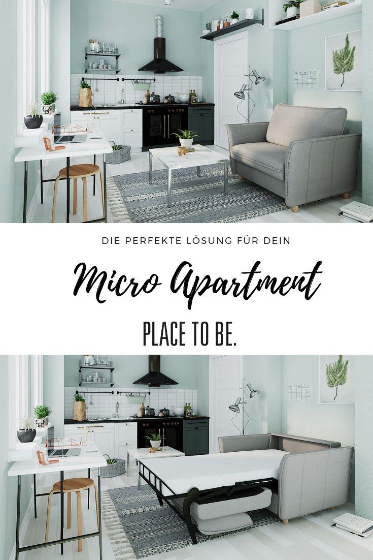 Schlafsofa Für Dein Micro Apartment Im Skandinavischen Design Schlafsofa Micro Apartment Skandinavisches Design