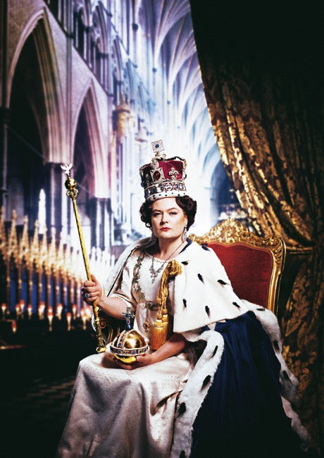 Alan Carr poses as The Queen for The Guardian magazine back in April